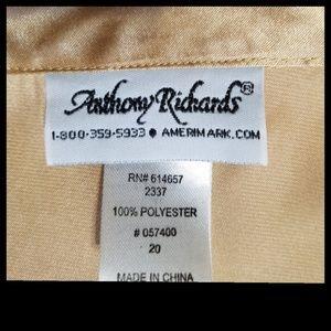Anthony Richards Tops - Gold Holiday Gold Anthony Richards Blouse 20